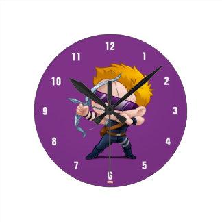Hawkeye Stylized Art Clocks