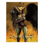 Hawkgirl Poster