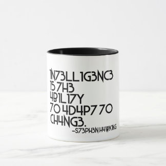 Hawking Quote of the Day Mug