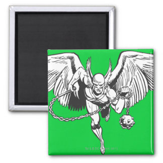 Hawkman Flying Outline Magnet