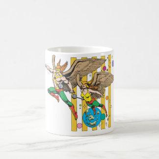 Hawkman & Hawkwoman Coffee Mug