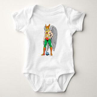 Hawkman Standing Pose Baby Bodysuit
