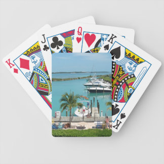 Hawk's Cay Marina Bicycle Playing Cards