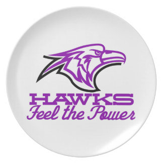 Hawks Feel The Power Party Plates