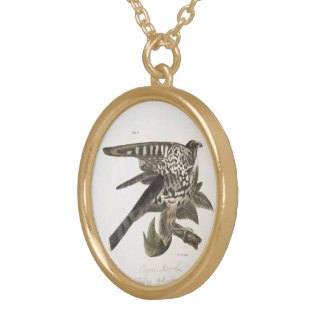 Hawks Gold Plated Necklace