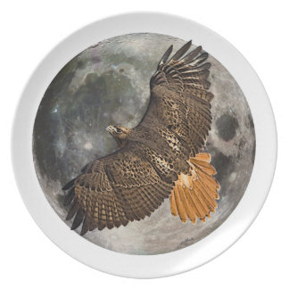 Hawks Moon Collector Plate