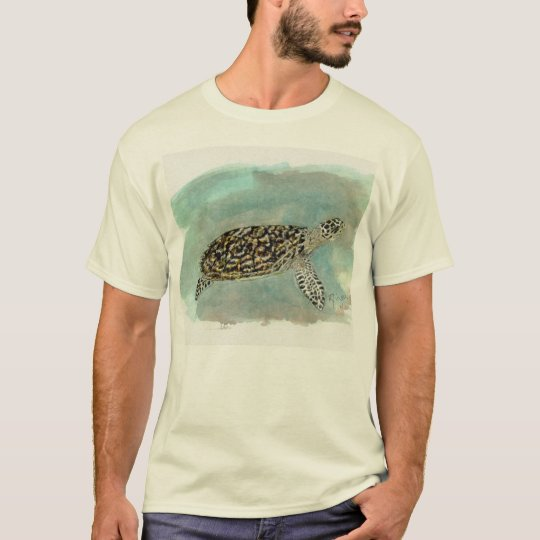 Hawksbill Sea Turtle Basic T-Shirt