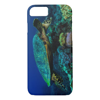 Hawksbill Sea Turtle on the Great Barrier Reef iPhone 7 Case