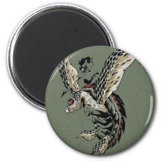 HawksBill Warrior Magnet