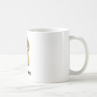 hawkward coffee mug
