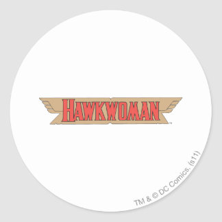 Hawkwoman Logo Round Sticker