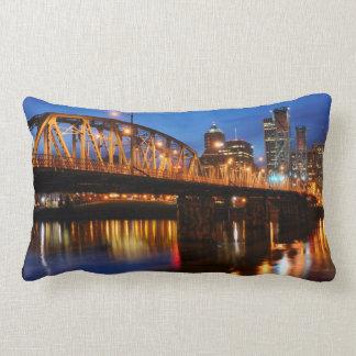 Hawthorne Bridge Lumbar Pillow