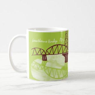 Hawthorne Bridge, PDX Coffee Mug