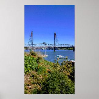 Hawthorne Bridge Portland Poster