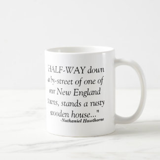 Hawthorne House of Seven Gables Mug