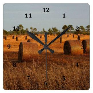 Hay Bail Clock