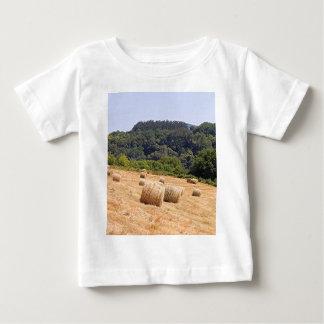 Hay bales along El Camino, Spain Baby T-Shirt