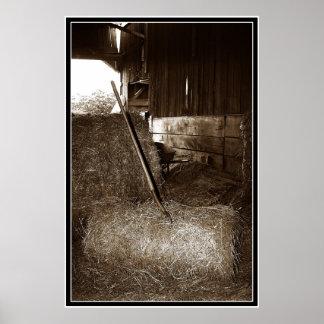 Hay & Pitchfork Poster