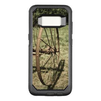 Hay Rake Wheel Aged OtterBox Commuter Samsung Galaxy S8 Case