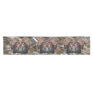 Hay Turkeys Short Table Runner