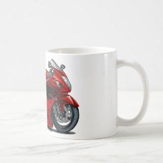 Hayabusa Red-Black Bike Classic White Coffee Mug