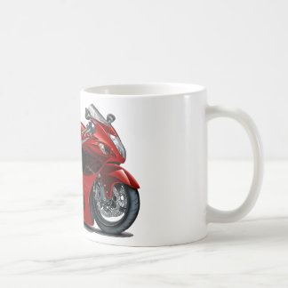 Hayabusa Red-Black Bike Coffee Mug