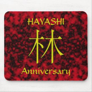 Hayashi Monogram Mouse Pad