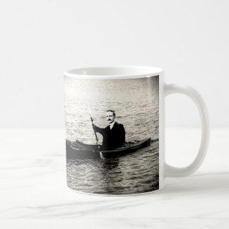 Hayek in a Kayak Coffee Mug