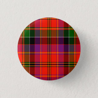 Hayfield Scottish Tartan 1 Inch Round Button