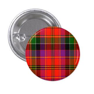 Hayfield Scottish Tartan 1 Inch Round Button
