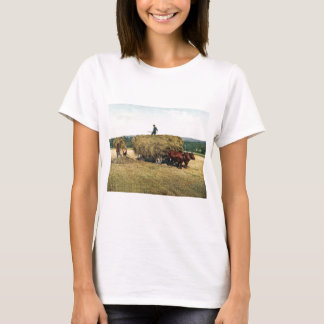 Haying in New England Vintage 1900 T-Shirt