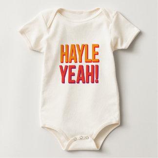 Hayle Yeah! Baby Bodysuit