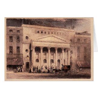 Haymarket Theatre Card