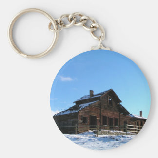 Haynes Ranch Homestead Basic Round Button Keychain