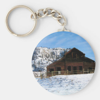Haynes Ranch, Osoyoos BC Canada Basic Round Button Keychain