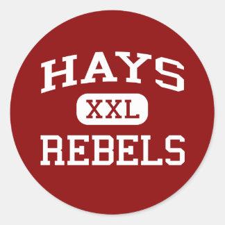 Hays - Rebels - Hays High School - Buda Texas Stickers