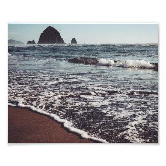 Haystack on the Oregon Coast Photo Print