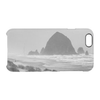 Haystack Rock at Cannon Beach Clear iPhone 6/6S Case