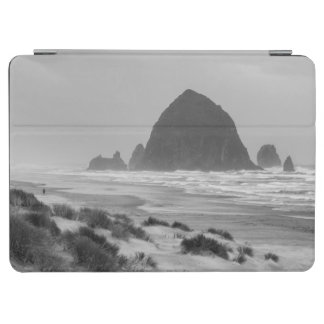 Haystack Rock at Cannon Beach iPad Air Cover