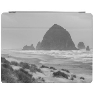 Haystack Rock at Cannon Beach iPad Cover