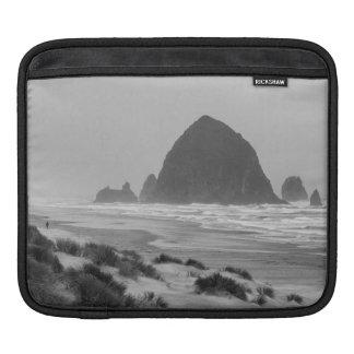Haystack Rock at Cannon Beach iPad Sleeve