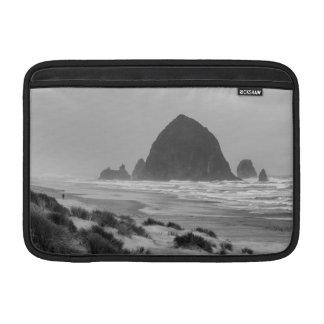Haystack Rock at Cannon Beach MacBook Air Sleeve