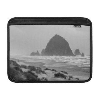 Haystack Rock at Cannon Beach MacBook Sleeves