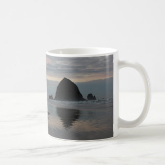 Haystack Rock at Cannon Beach Coffee Mugs