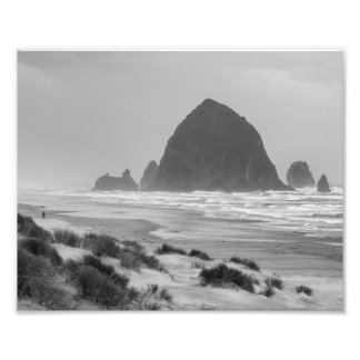 Haystack Rock at Cannon Beach Photo Print