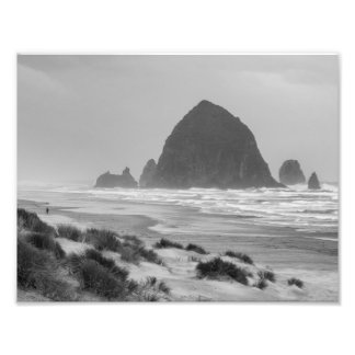 Haystack Rock at Cannon Beach Photograph