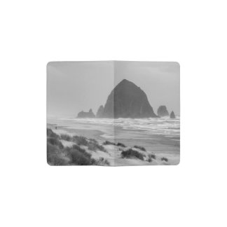 Haystack Rock at Cannon Beach Pocket Moleskine Notebook