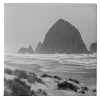 Haystack Rock at Cannon Beach Tile