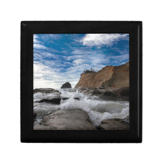 Haystack Rock at Cape Kiwanda Oregon coast USA Gift Box
