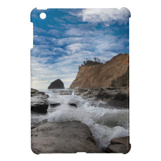 Haystack Rock at Cape Kiwanda Oregon coast USA iPad Mini Covers